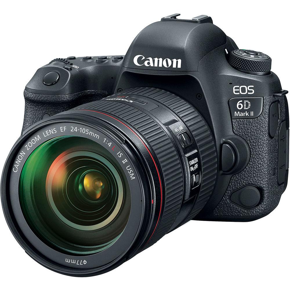 مشخصات، خرید و قیمت دوربین دیجیتال کانن Canon EOS 6D Mark II در یزد کمرا