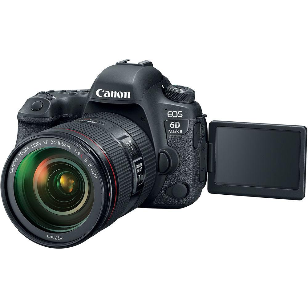 خرید اینترنتی دوربین دیجیتال کانن Canon EOS 6D Mark II در یزد کمرا