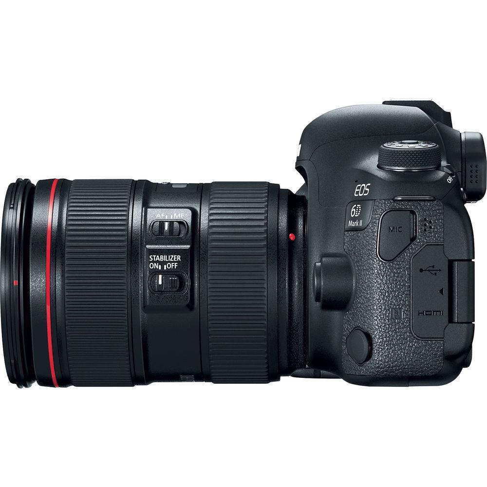 بهترین قیمت دوربین کانن مشخصات، خرید و قیمت دوربین دیجیتال کانن Canon EOS 6D Mark II در فروشگاه یزد کمرا
