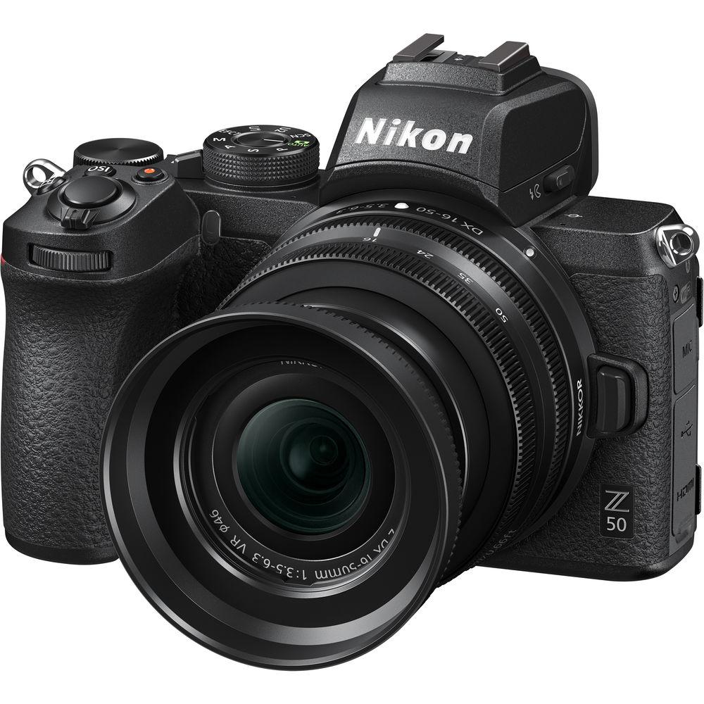 مشخصات، قیمت و خرید دوربین عکاسی نیکون Nikon Z50 در یزد کمرا