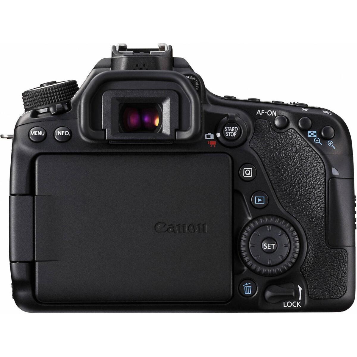 قیمت، مشخصات فنی و خرید اینترنتی دوربین دیجیتال Canon 80D در یزد کمرا