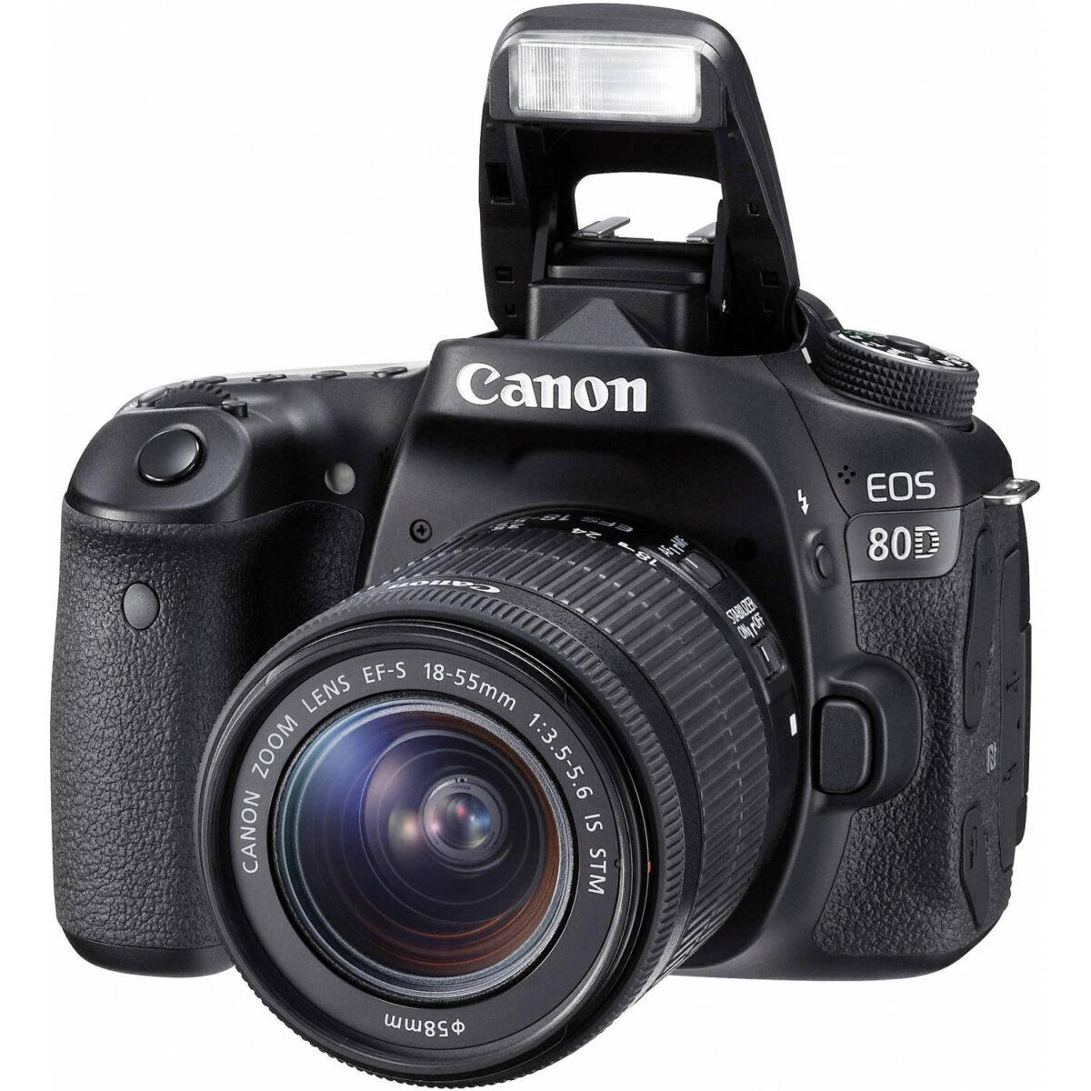 قیمت ویژه دوربین کانن 80D در فروشگاه یزد کمرا