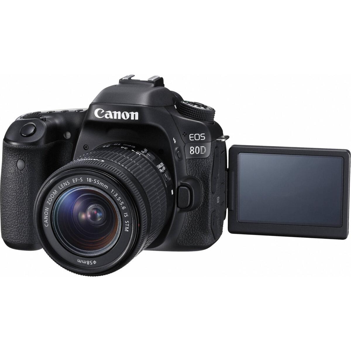 بهترین قیمت دوربین canon eos 80d در آنلاین شاپ یزد کمرا