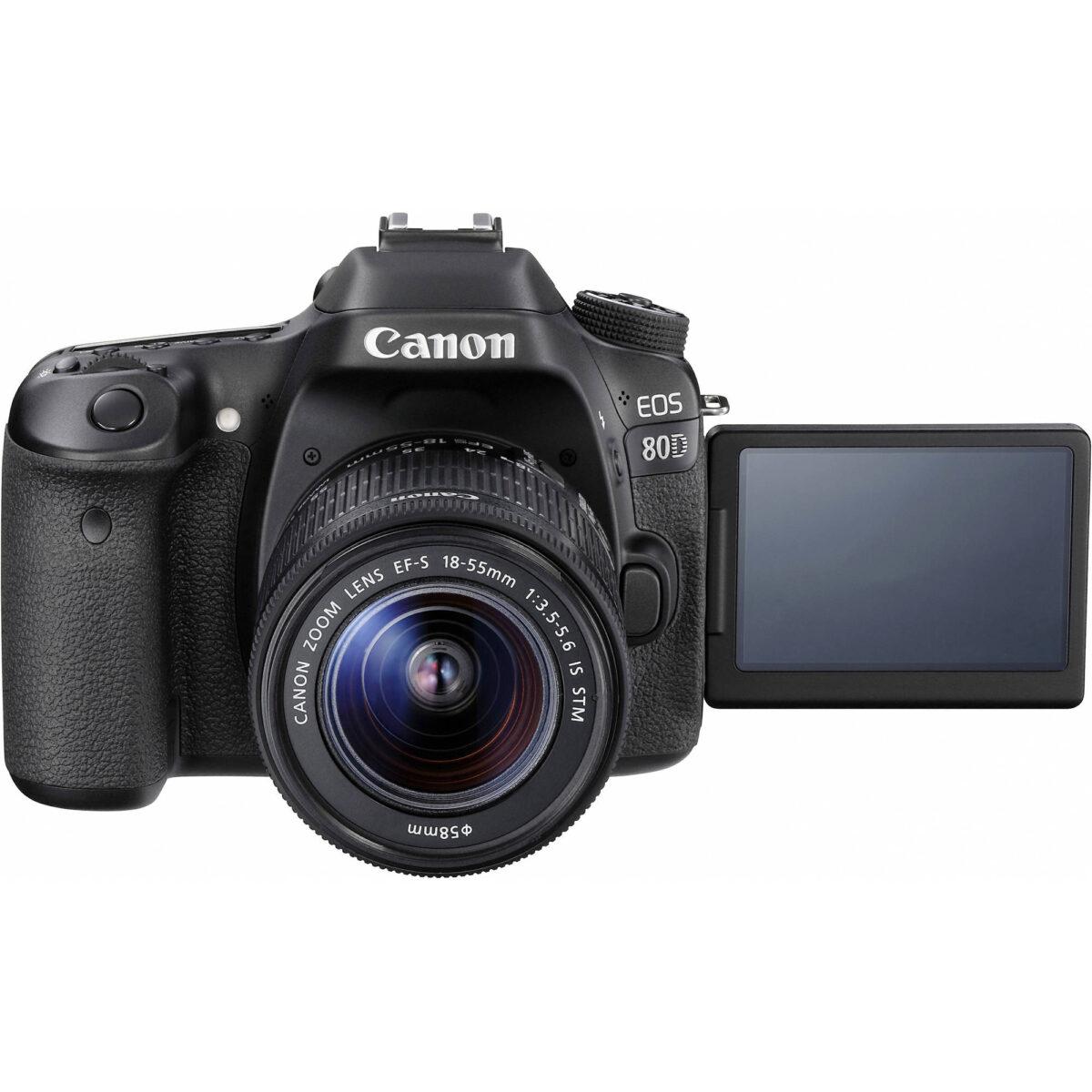 بهترین دوربین canon eos 80d در آنلاین شاپ یزد کمرا