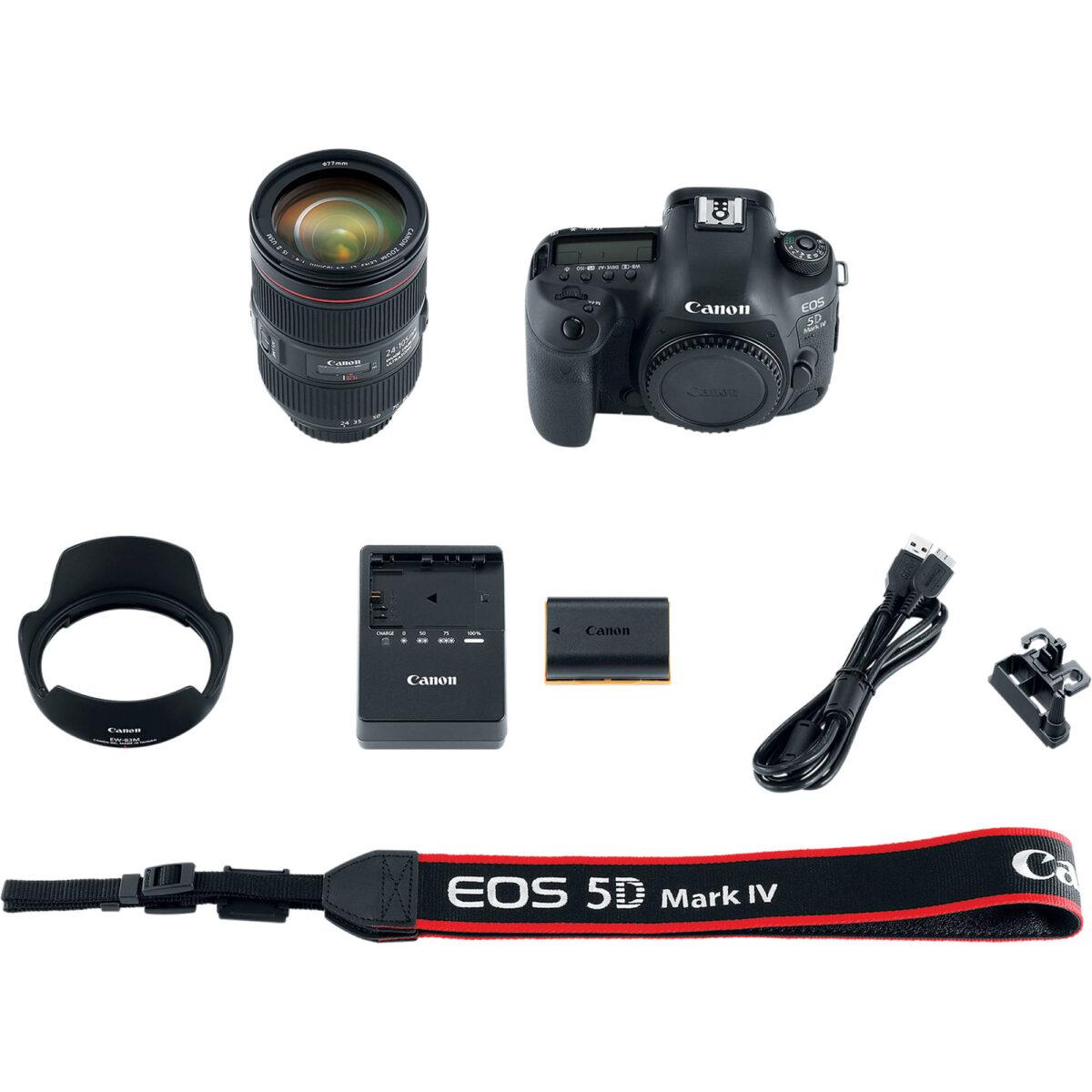 لوازم جانبی دوربین canon eos 5d mark IV در یزد کمرا