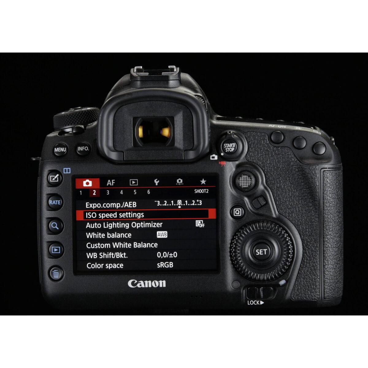 مشخصات فنی دوربین دیجیتال کانن eos 5d mark IV - فروشگاه یزد کمرا