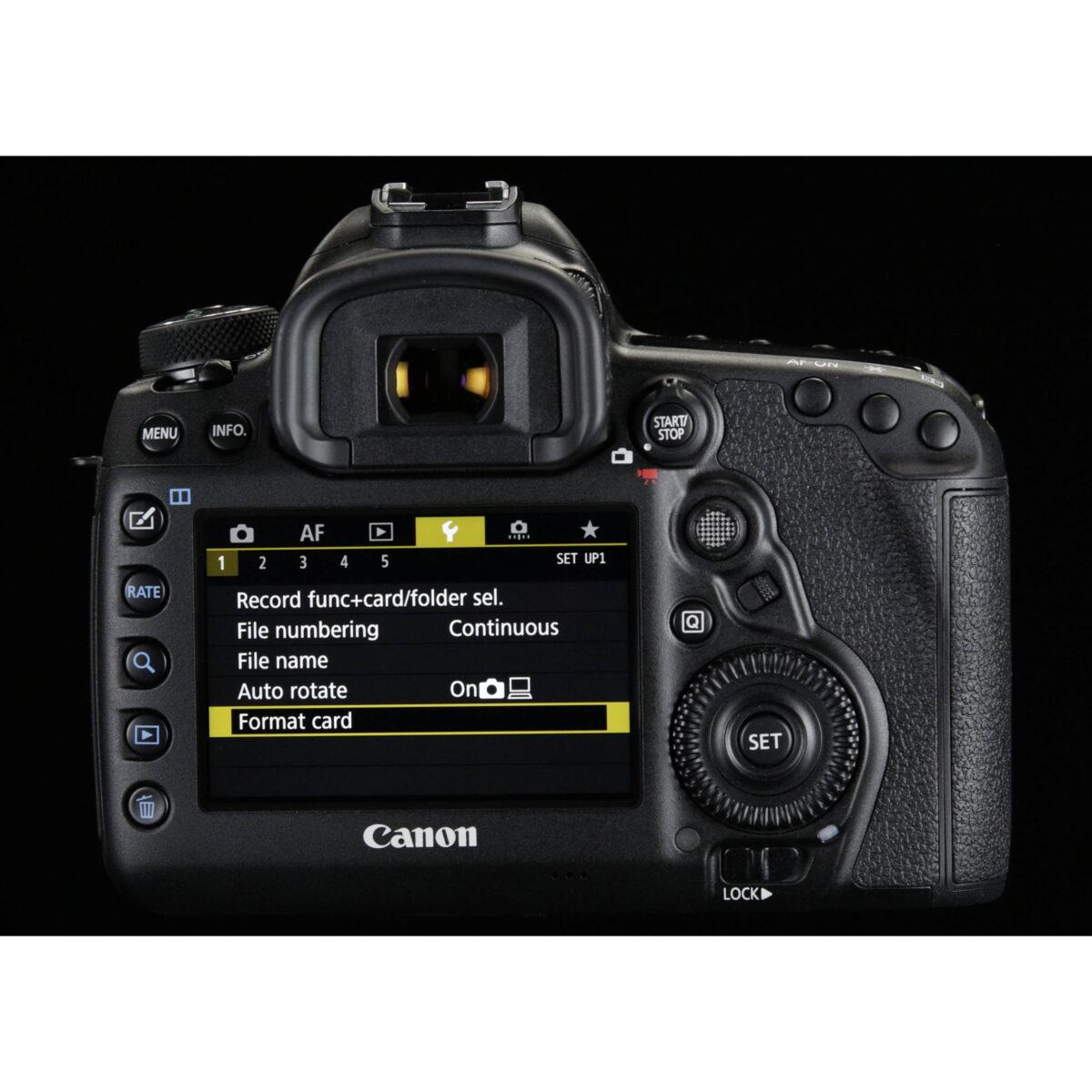 سفارش آنلاین دوربین canon eos 5d mark IV تایپ 2 - یزد کمرا