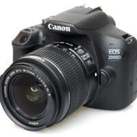 قیمت و خرید دوربین دیجیتال کانن مدل EOS 2000D به همراه لنز 18-55 میلی متر IS II