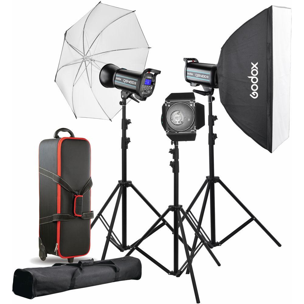 قیمت و خرید کیت فلاش استودیویی گودکس Godox QS-400II