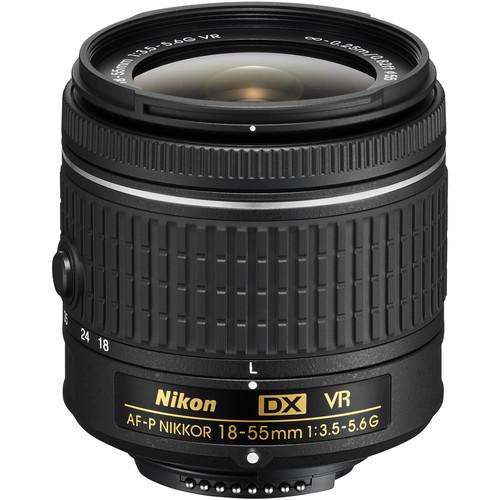 قیمت و خرید لنز نیکون Nikon AF-P DX NIKKOR 18-55mm f/3.5-5.6G VR
