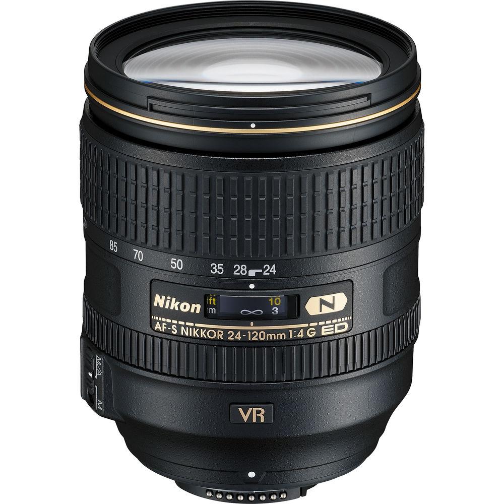قیمت و خرید لنز دوربین نیکون AF-S 24-120mm F/4G ED VR