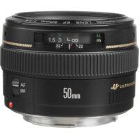 قیمت و خرید لنز کانن مدل EF 50mm f-1.4 USM