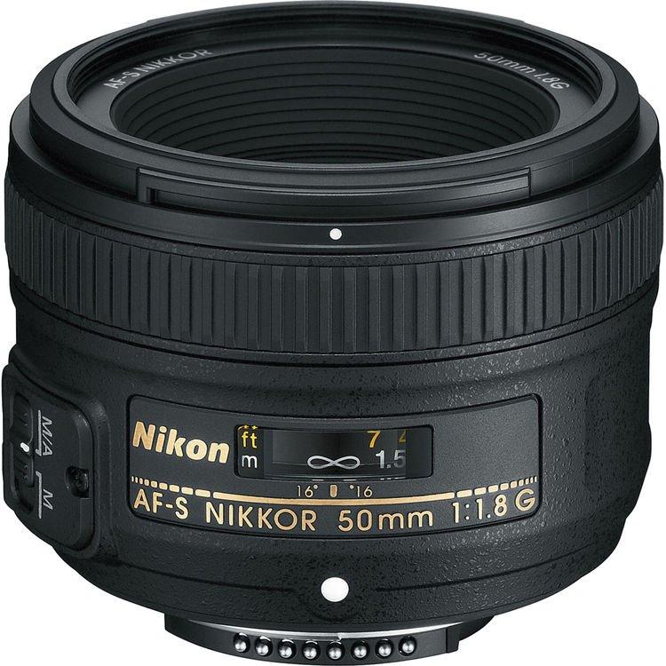 قیمت و خرید لنز نیکون 50mm f/1.8G AF-S