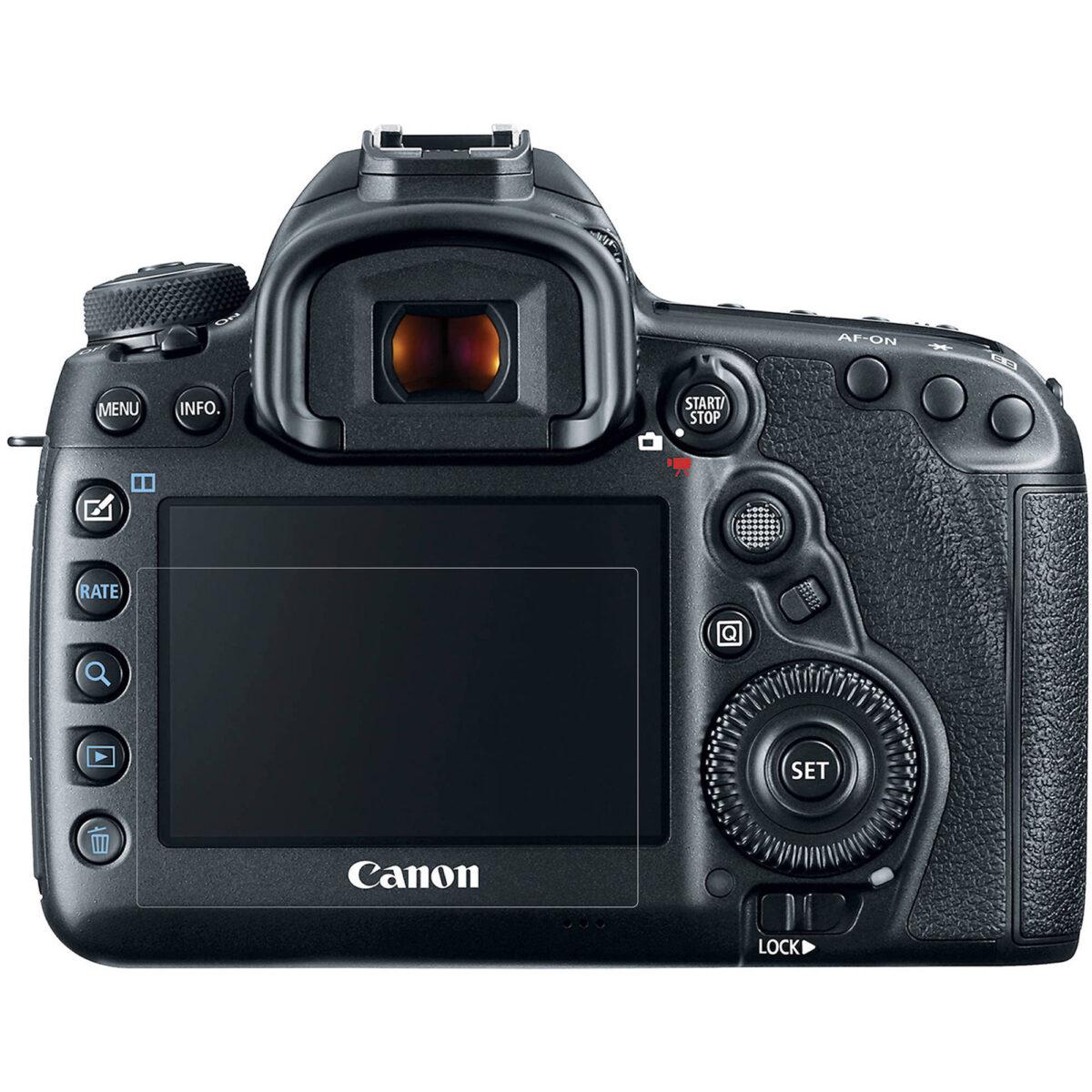 خرید محافظ صفحه نمایش طلقی دوربین مناسب برای کانن 5D Mark IV