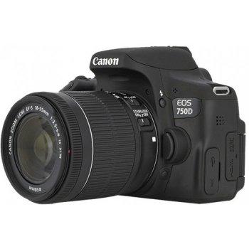 قیمت و خرید دوربین دیجیتال کانن مدل EOS 750D به همراه لنز 55-18 میلی متر IS STM ( کارکرده )