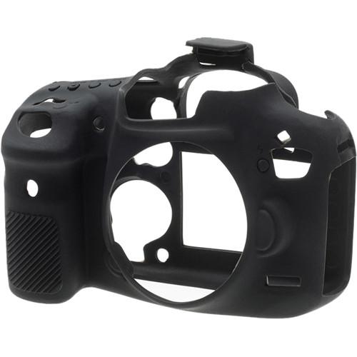 قیمت و خرید کاور 80دیکاور سیلیکونی دوربین کانن رنگ مشکی easyCover Silicone Protection Cover for Canon 7D Mark II