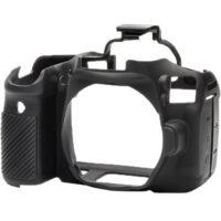 قیمت و خرید کاور کاور سیلیکونی دوربین کانن رنگ مشکی easyCover Silicone Protection Cover for Canon 90D