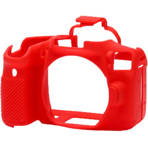 قیمت و خرید کاور کاور سیلیکونی دوربین کانن رنگ قرمز easyCover Silicone Protection Cover for Canon 90D