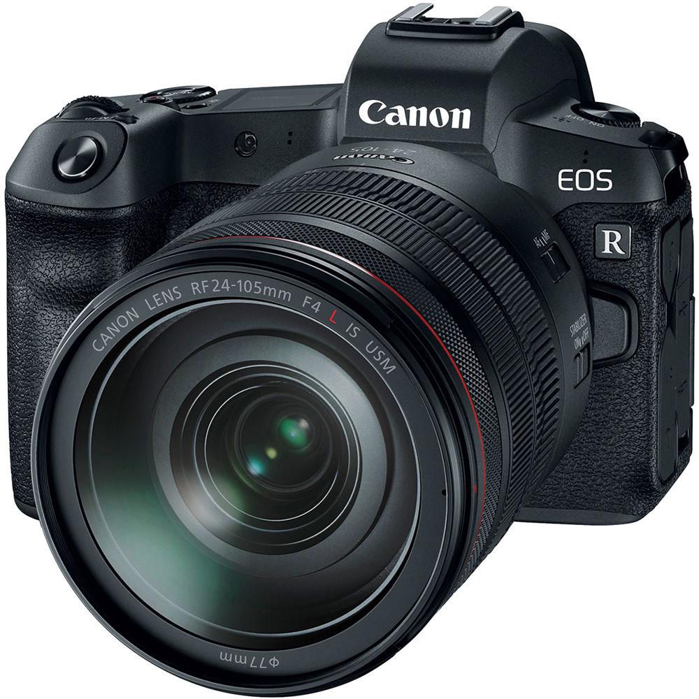 قیمت و خرید دوربین دیجیتال بدون آینه کانن مدل EOS R به همراه لنز RF 24-105mm و Mount Adapter EF-EOS R