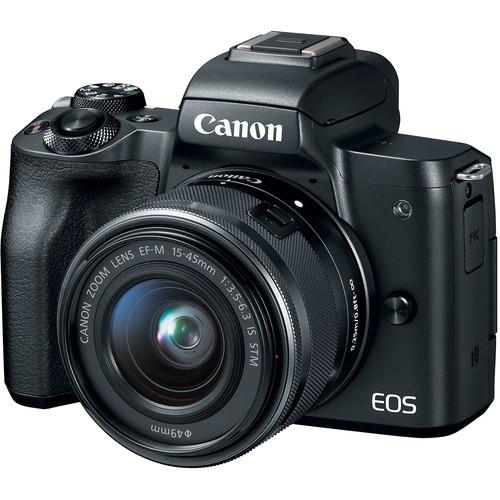 قیمت و خرید دوربین دیجیتال بدون آینه کانن مدل EOS M50 به همراه لنز 15-45 میلی متر