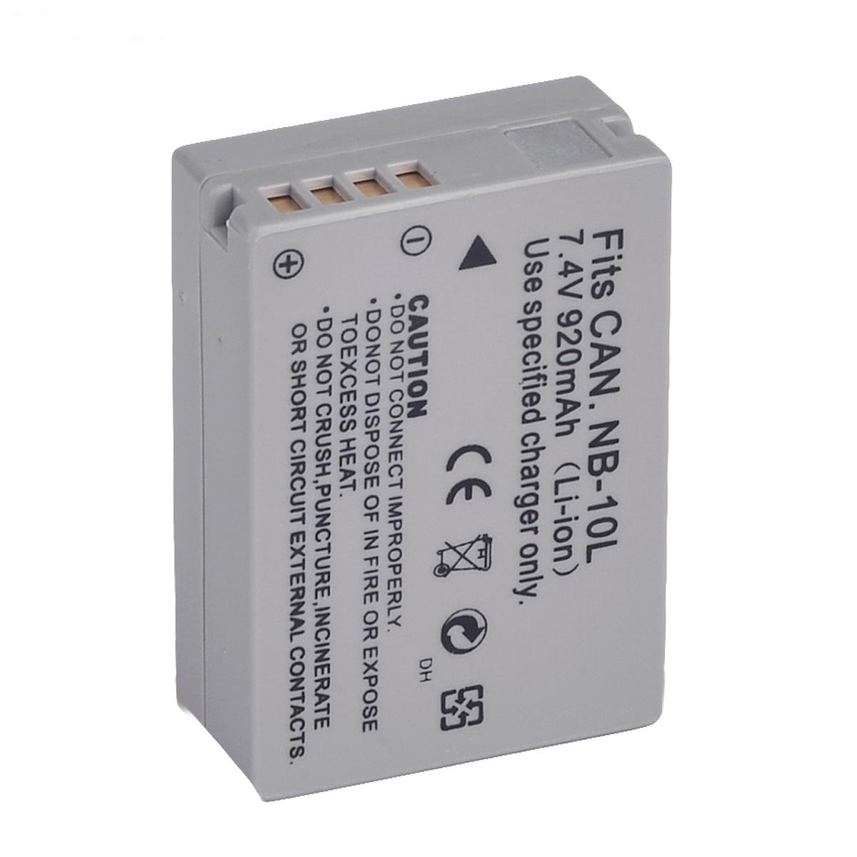 قیمت و خرید باتری دوربین کانن مدل NB-10L مشابه اصلی