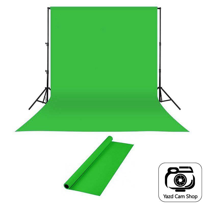 قیمت و خرید پرده سبز کروماکی ۵×۳