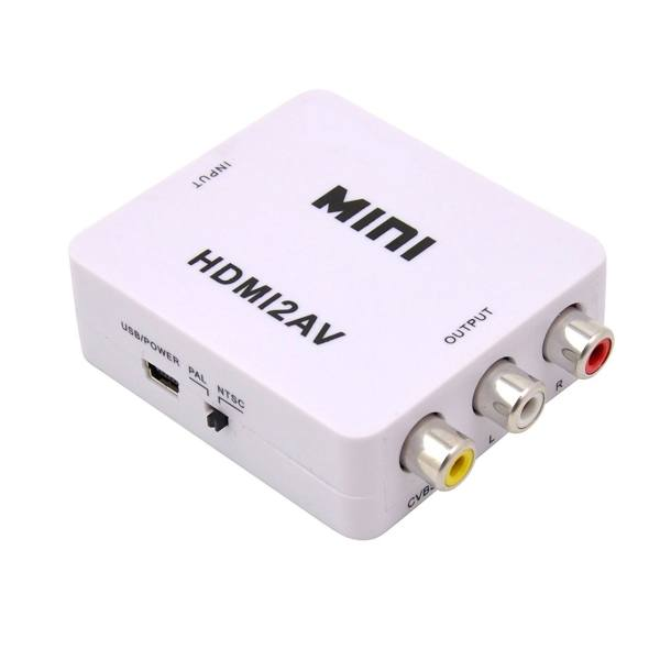 قیمت و خرید مبدل HDMI به AV مدل Mini