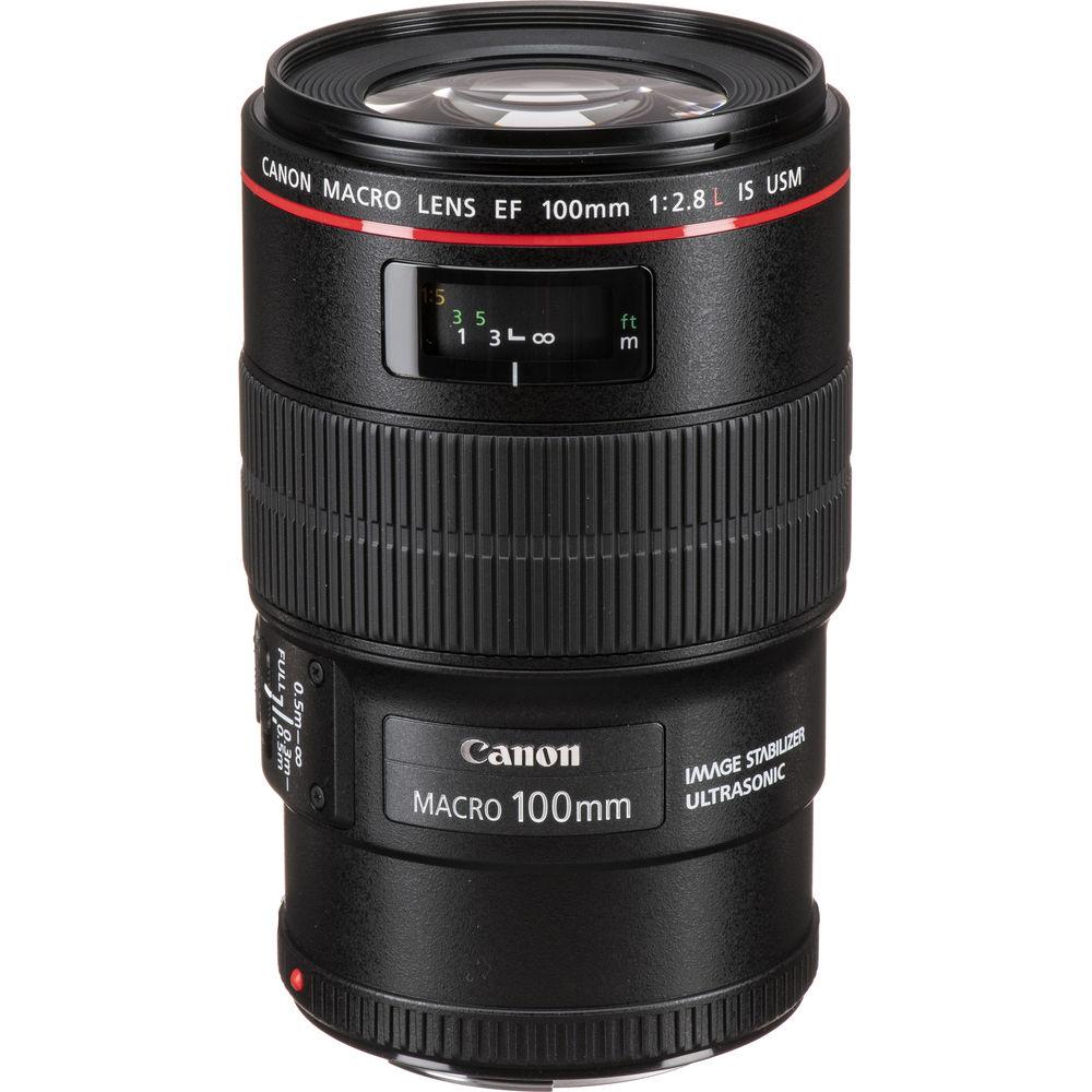 قیمت و خرید لنز کانن Canon EF 100mm f/2.8L Macro IS USM