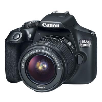 قیمت و خرید دوربین دیجیتال کانن مدل EOS 1300D به همراه لنز 18-55 میلی متر IS II ( کارکرده )