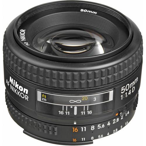 قیمت و خرید لنز نیکون Nikon AF NIKKOR 50mm f/1.4D