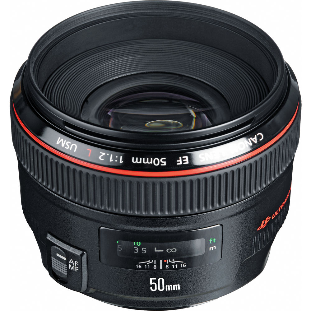 قیمت و خرید لنز کانن Canon EF 50mm f/1.2L USM
