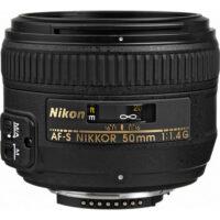 قیمت و خرید لنز نیکون Nikon AF-S NIKKOR 50mm f/1.4G ( کارکرده )