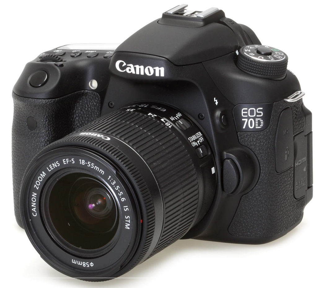 قیمت و خرید دوربین دیجیتال کانن مدل EOS 70D با لنز 18 55 STM