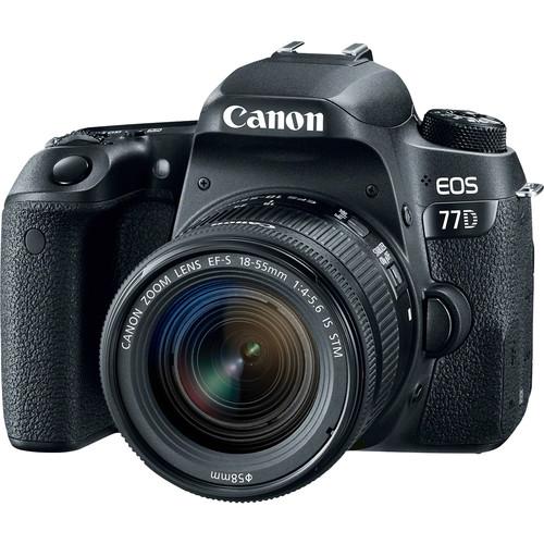 قیمت و خرید دوربین دیجیتال کانن مدل EOS 77D به همراه لنز 18-55 میلی متر STM