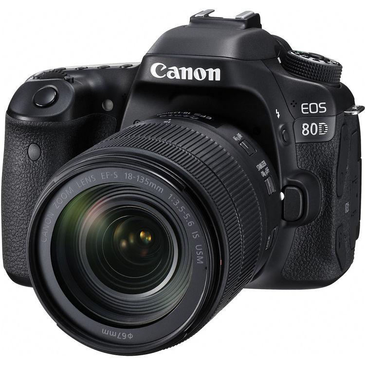 قیمت و خرید دوربین دیجیتال کانن Eos 80D به همراه لنز 18-135 میلی متر USM ( کارکرده )