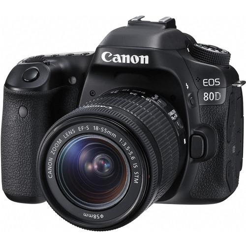 قیمت و خرید دوربین دیجیتال کانن Eos 80D به همراه لنز EF-S 18-55mm f/3.5-5.6 IS STM