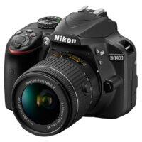 قیمت و خرید دوربین دیجیتال نیکون مدل D3400 به همراه لنز 18/55mm f/3.5-5.6 G VR