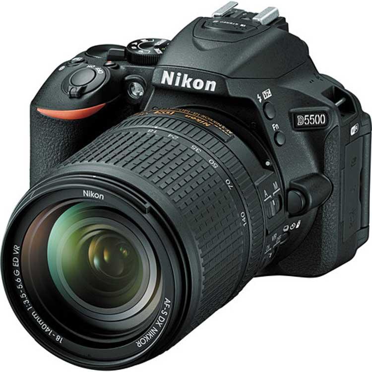 قیمت و خرید دوربین دیجیتال نیکون D5500 به همراه لنز 18-140