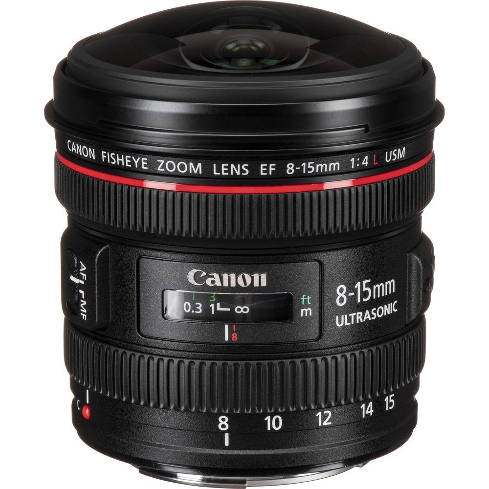 قیمت و خرید لنز کانن Canon EF 8-15mm f/4L Fisheye USM