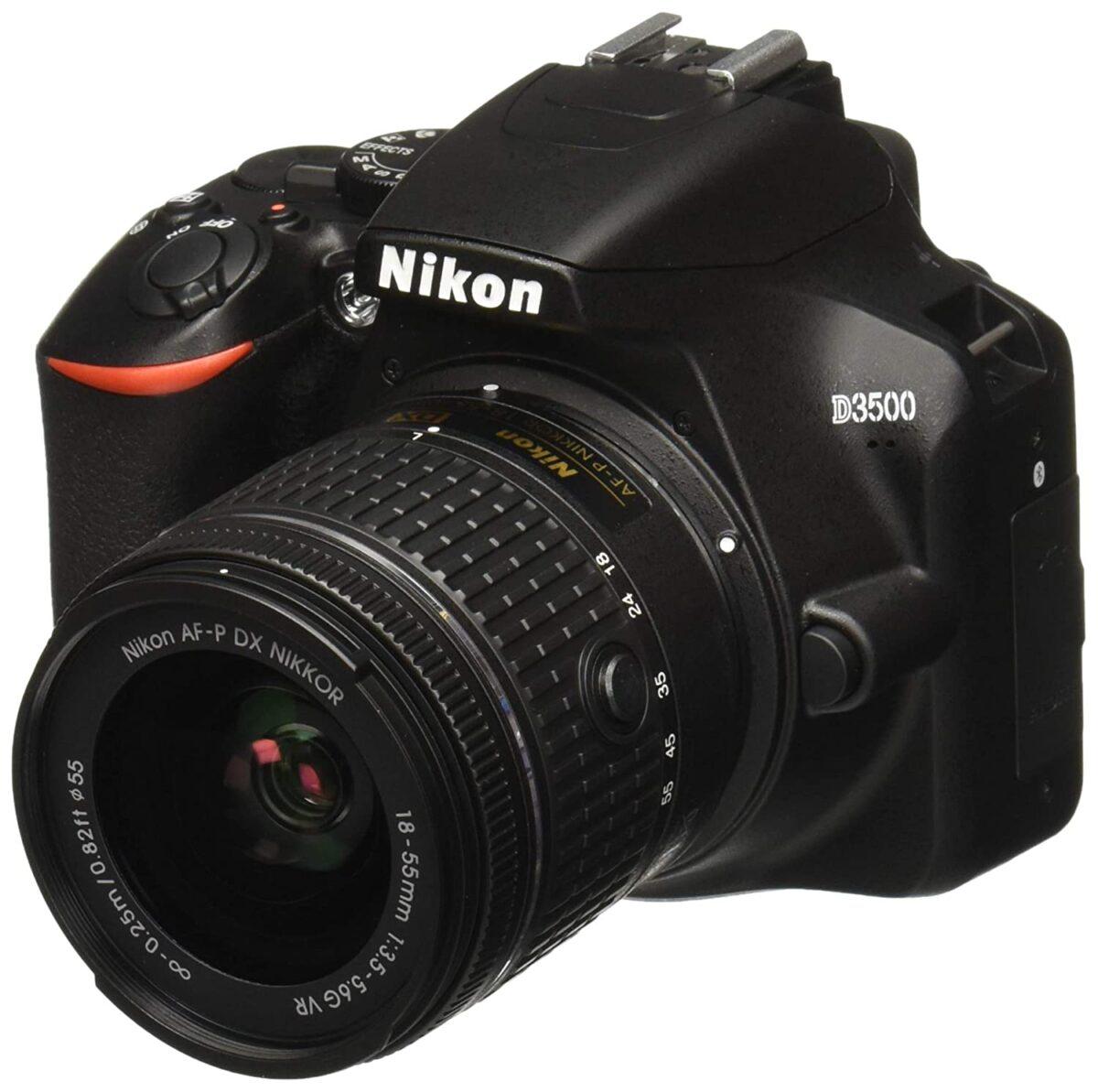 قیمت و خرید دوربین دیجیتال نیکون مدل D3500 به همراه لنز ۱۸-۵۵ میلی متر VR AF-P