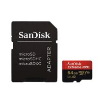 قیمت و خرید کارت حافظه microSDXC سن دیسک مدل Extreme PRO کلاس A2 سرعت 170MBs 64 گیگابایت