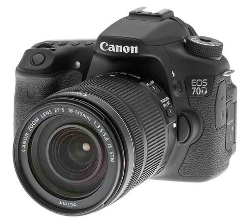 قیمت و خرید دوربین دیجیتال کانن EOS 70D با لنزSTM 18-135 ( کارکرده )