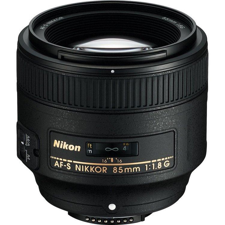 قیمت و خرید لنز نیکون Nikon AF-S NIKKOR 85mm f/1.8G ( کارکرده )
