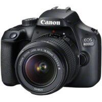دوربین دیجیتال کانن 4000D با لنز 18 55 DCIII ( کارکرده )