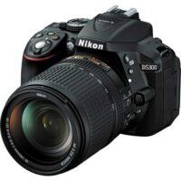 دوربین دیجیتال نیکون D5300 با لنز 18 140 و لنز 50 F1.8G