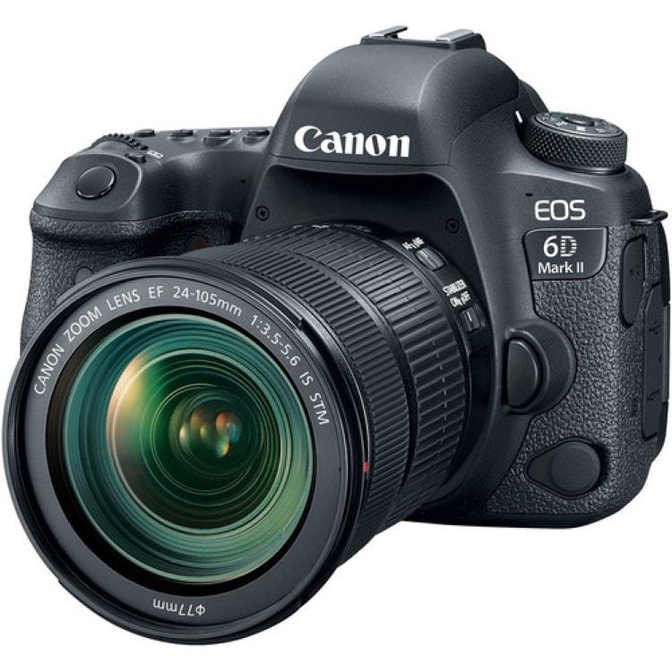 قیمت و خرید دوربین دیجیتال کانن Canon EOS 6D Mark II Kit 24-105mm f/3.5-5.6 STM